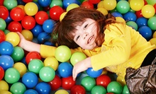 10 Open-Jump Sessions for Kids Aged Younger Than 2 or 2 and Older, or a Party Package at KangaZoom (Up to 67% Off)