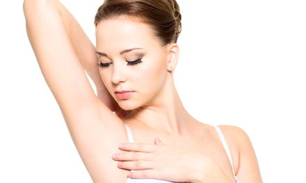 Six Laser Hair Removal Treatments for Small or Medium Area at Facials & More Med Spa (Up to 84% Off)
