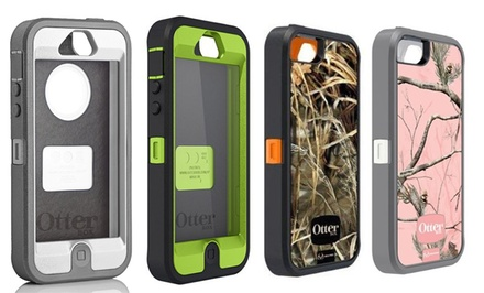 groupon daily deal - Otterbox Defender Series Case for iPhone 5/5s. Multiple Colors Available. Free Returns.