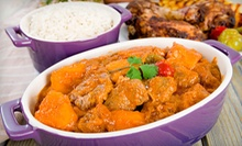 $15 for Two Groupons, Each Good for $15 Worth of Nigerian Food at Funmis Caf ($30 Value)