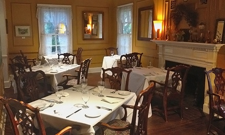 American and Regional Cuisine for Two or Four to Nine People at The Inn at Brookeville Farms (Up to 46% Off)