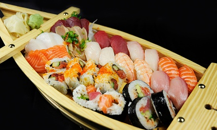 $17 for $30 Worth of Sushi, Japanese Food, and Drinks at Wasabi Sushi Bar
