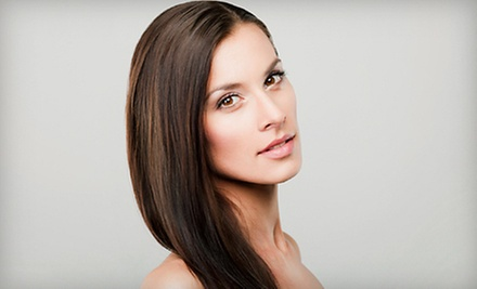 Hair Services at Salon Eco Chic (Up to 79% Off). Four Options Available.