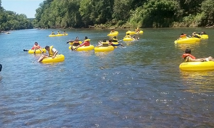 Two- or Four-Hour River-Tubing Trip for Two, Four, or Six at Allsouth Tubing (Up to 46% Off)