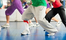 5 or 10 Zumba or Hip-Hop Dance Classes at Rhythmoz Dance & Fitness Studio (Up to 61% Off)