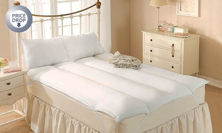 Anti-Allergy Hollowfibre Mattress Topper