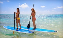 Two-Hour SUP Board or Kayak Rental with a Lesson for One or Two from Singer Island Surf Camp Inc. (Up to 71% Off)