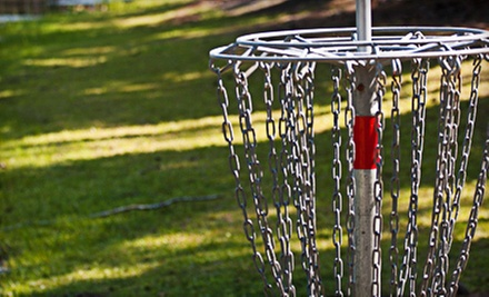 $9.99 for All-Day Disc Golf Plus Disc Rental for Four at Trophy Lakes ($20 Value)