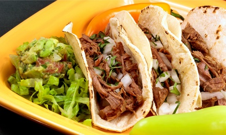 Mexican Food for Lunch or Takeout at Te'kela Mexican Cocina y Cantina (Up to 50% Off)