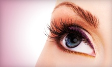 Eyelash Extensions with Optional Fill, Eyelash Tinting, or Eyebrow Tinting at Angel Nails (Up to 72% Off)