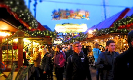 Admission and Carousel Rides at Minneapolis Holiday Market (Up to 50% Off). Two Options Available.