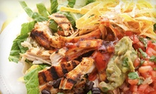 Mexican Food at Costa Vida Fresh Mexican Grill (Half Off). Two Options Avaialble.