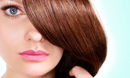 One or Three Haircuts with Optional Partial Highlights or Singe-Process Color at Color Bar 51 (Up to 63% Off)