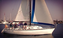 3-Hour Beginner's Sailing Lesson or a 21-Hour Sailing Certification Course from Pacific Sailing (Up to 59% Off)