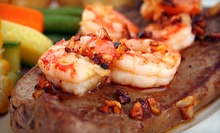 Steak and Seafood at Boston Hotel (Half Off). Two Options Available.