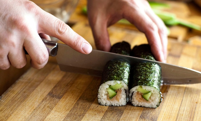 Suzu Japanese Tapas Bar - City Of London: Sushi Making Workshop For One or Two from £24 at Suzu Japanese Tapas Bar