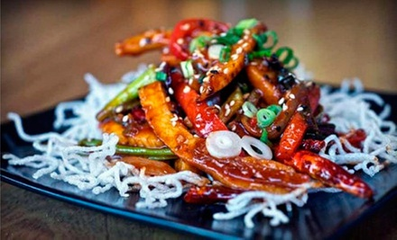 Asian Fusion Cuisine and Drinks at StreetFood Asia (Up to 55% Off). Two Options Available.