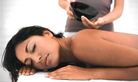 $52 for a Integrative Massage Package with Foot Soak and Neck Wrap at Serenity Wellness ($110 Value)
