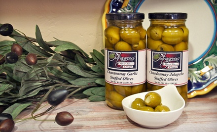 Olive Oil, Balsamic Vinegar, or Stuffed Olives from Outrageous Olive Oils and Vinegars (Half Off) 