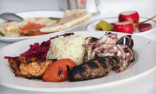 Four-Course Lebanese Dinner for Two or Four at Maza Restaurant (Up to 62% Off)