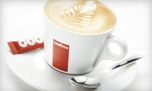 $10 for Four Groupons, Each Good for $5 Worth of Espresso and Caf Cuisine at Lavazza Espression ($20 Total Value)