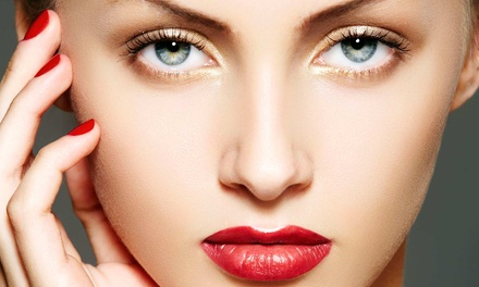 Custom Facial or Spa Mani-Pedi at Solaire Hair Studio and Spa (Up to 50% Off)