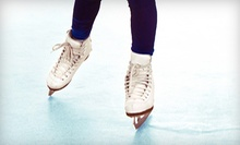 Public Skating with Skates for Two or Four, or a Four-Week Skating Course at The Rinks—Lakewood ICE (Up to Half Off)