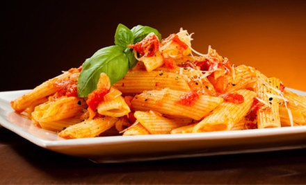 Italian Food at Sammios Italian (Up to 54% Off). Three Options Available.
