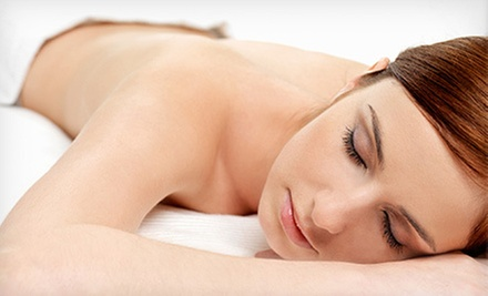 $39 for Custom Massage with Hot Towels and Herbal Eye Mask at Parakletos Wellness ($79 Value)