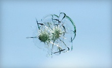 One or Three Rock-Chip Repairs at A Broken Windshield (Up to 70% Off)