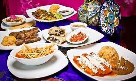 Two or Four Groupons, Each Good for $10 Worth of Mexican Cuisine at Vida Mia (40% Off)