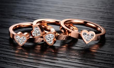 Um anel modelo Lucky disponível em duas cores por 12,99€ ou dois por 19,99€