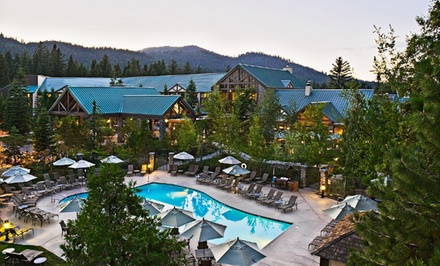 groupon daily deal - 1-Night Stay for Two with Breakfast and Activity Package at Tenaya Lodge at Yosemite in Fish Camp, CA