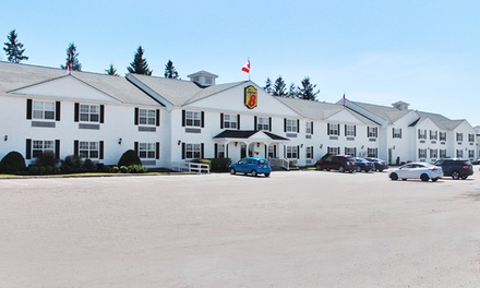 1-Night Stay for Two Adults and Up to Two Kids at Super 8 Charlottetown PE in Cornwall, PE. Combine Up to 4 Nights.