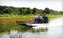 $21 for a One-Hour Airboat Tour from Wild Willy's Airboat Tours (Up to $39.25 Value)