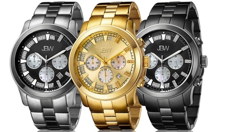 JBW Delano Multifunction Diamond Watch