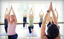 10 or 20 Yoga Classes at The Fitness Center for Women (Up to 69% Off)