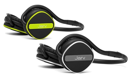 Jarv Joggerz Pro Sport Bluetooth 4.1 Headphones with Built-in Mic