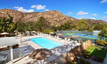 2-Night Stay for Up to Six with Bottle of Wine at Riviera Oaks Resort & Racquet Club in Ramona, CA