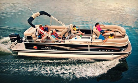 Nine-Hour Weekend or Weekday Pontoon-Boat Rental for Up to 12 at Bay Area Party Boats LLC (51% Off)