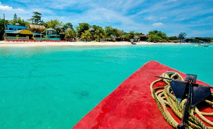 3- or 4-Night All-Inclusive Stay for Two at Legends Beach Resort in Negril, Jamaica. Includes...
