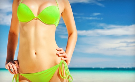 One, Three, or Six Airbrush Tans at Mi Amor Studio (Up to 57% Off)