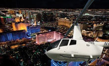 Helicopter Tour of the Strip for One or Tour for Up to Three with Hypnotist Show from 702 Helicopters (Up to 68% Off)