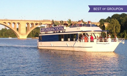 One-Hour Cherry Blossom Cruise for Two or Four from Boomerang Tours, Inc. (Up to 51% Off)