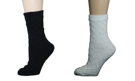 Minx Kissables Spa Collection Double-Layer Socks (2-Pack)