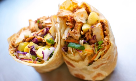 $22 for Two Groupons, Each Good for $20 Worth Food & Drinks at Hot Indian Foods ($40 Value)