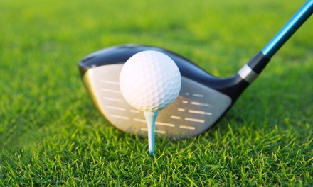 Two or Four Nine-Hole Rounds of Golf with Range-Ball Buckets at Elkhorn Ridge Golf Course (Up to 50% Off)