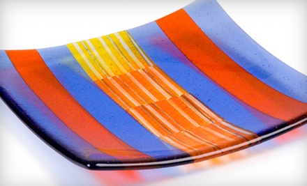 $47 for an Introductory Fused-Glass Plate-Making Class at Bullseye Glass Co. ($100 Value)