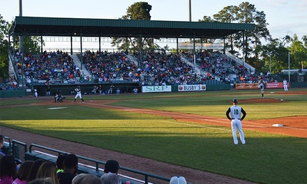 $9 for an Augusta GreenJackets Baseball Game for Two at Lake Olmstead Stadium on June 16, at 7:05 p.m. ($19.50 Value)