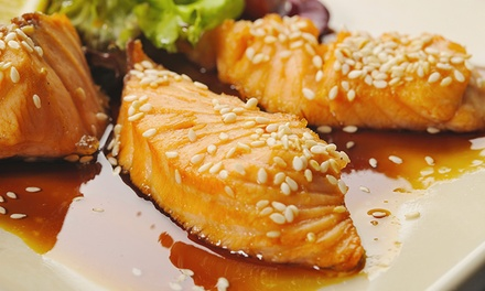 Asian-Fusion Dinner for Two or Four at OpenRice Asian Fusion & Lounge (40% Off)